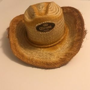 Corona Cowboy Hat From Mexico! NEVER BEEN WORN!